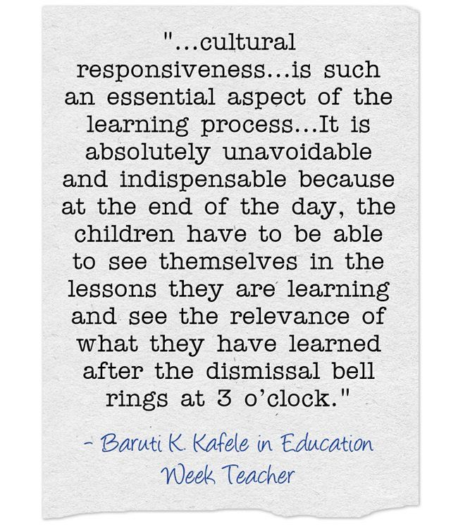 Critical Questions For Inspiring Classroom Excellence An Interview With Baruti K Kafele Opinion Teaching Quotes Inspirational Quotes For Students Teaching Quotes Teachers