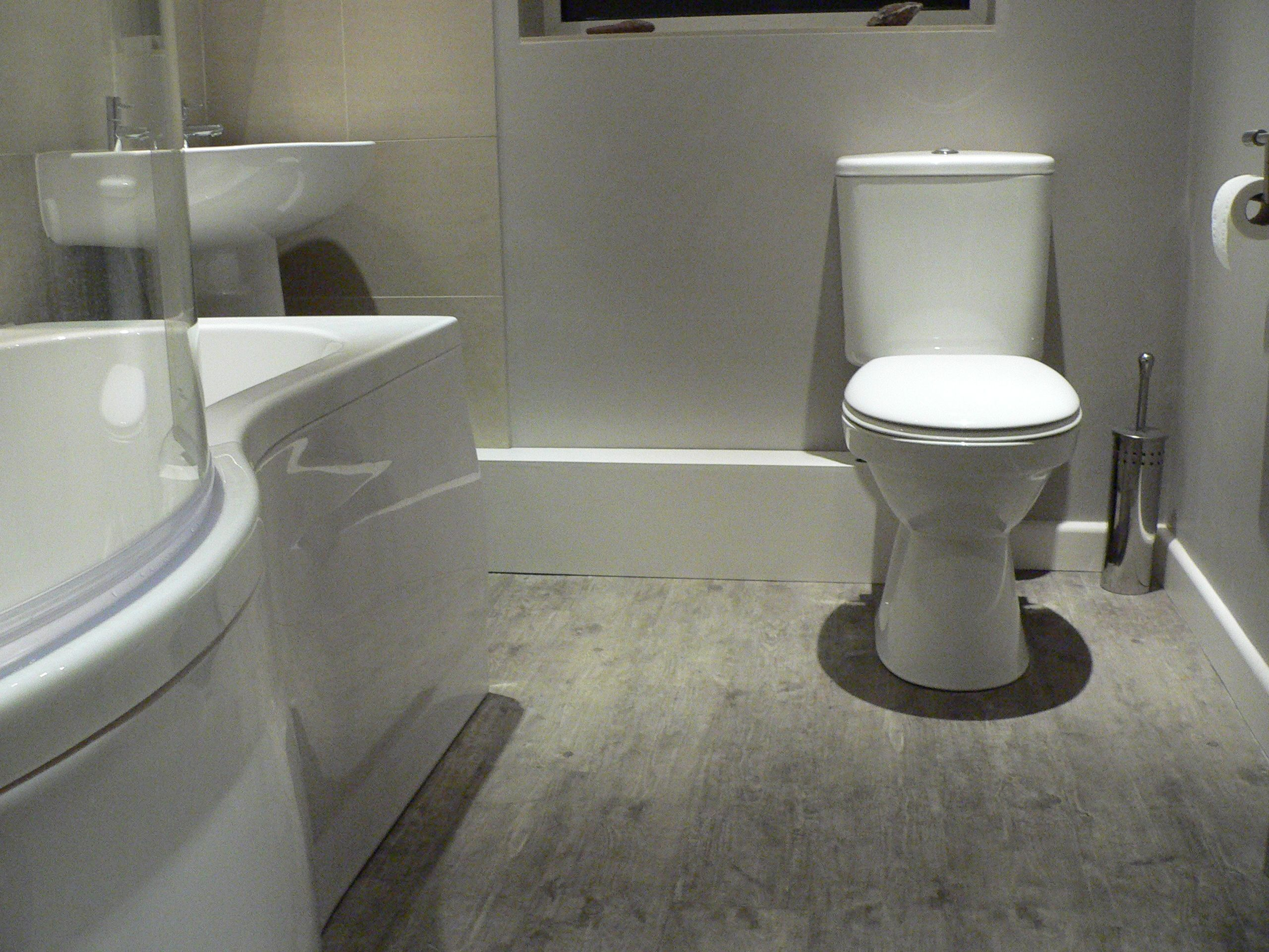 Karndean flooring, new bathroom suite (With images ...