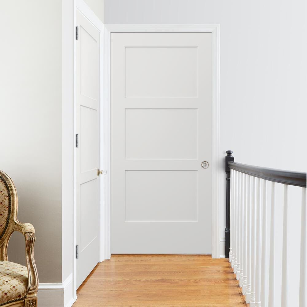 Shop The Jeld Wen Molded Interior Door Collection At The Home Depot Personalize Your Livi Prehung Interior Doors Interior Door Styles Farmhouse Interior Doors