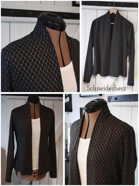 Neues Jäckchen- tatsächlich mal mit Muster | Kleidung | Pinterest ...
