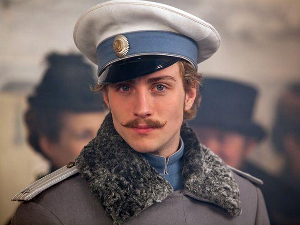 """Aaron Taylor Johnson in """"Anna Karenina"""""""