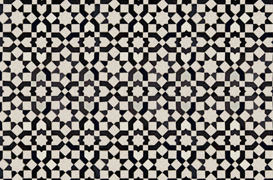 black white tile delight mosaics ceramic design and patterns. Black Bedroom Furniture Sets. Home Design Ideas