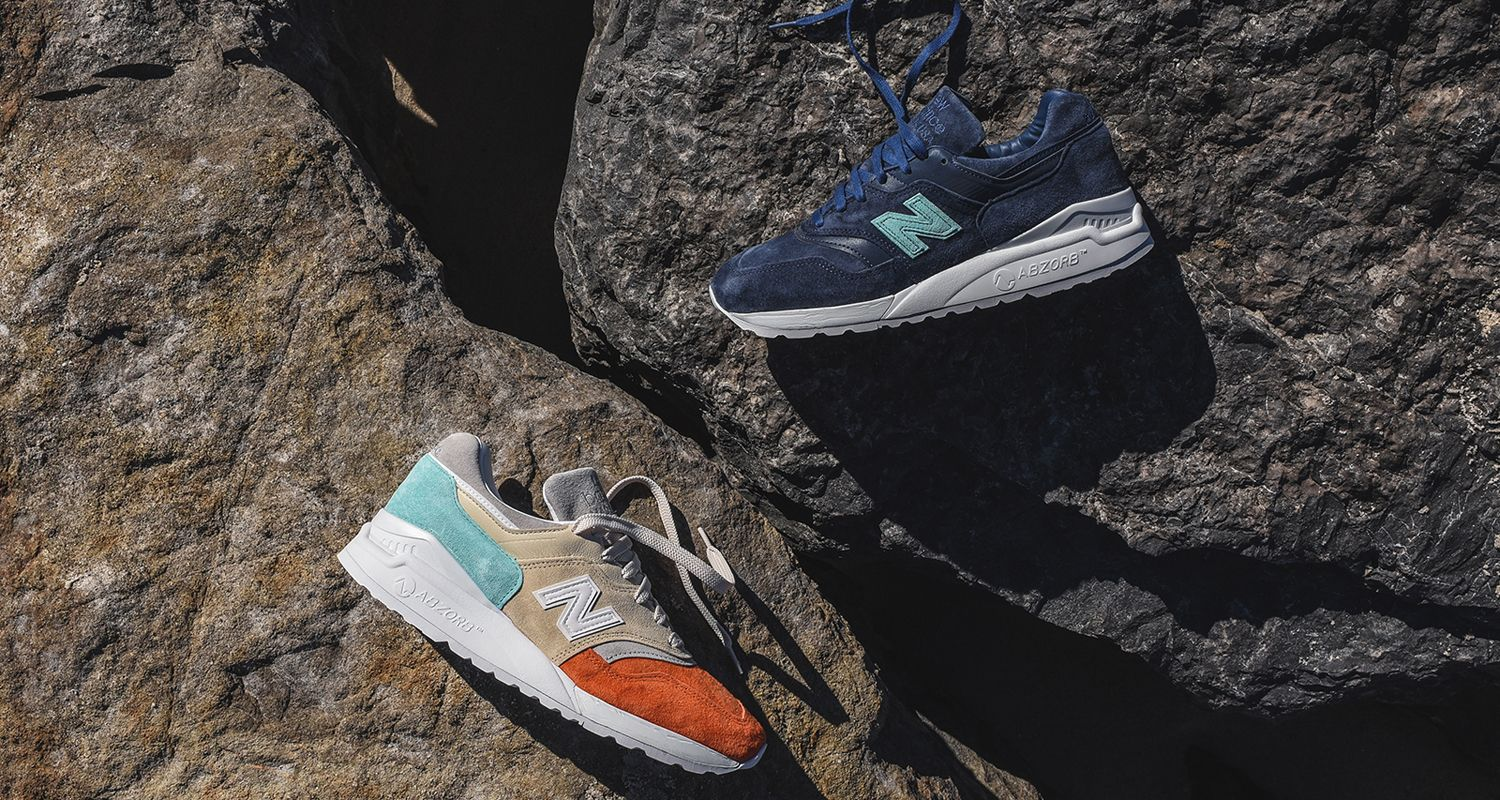 "Ronnie Fieg x New Balance 997.5 ""Mykonos"" Collection Drops This Friday"