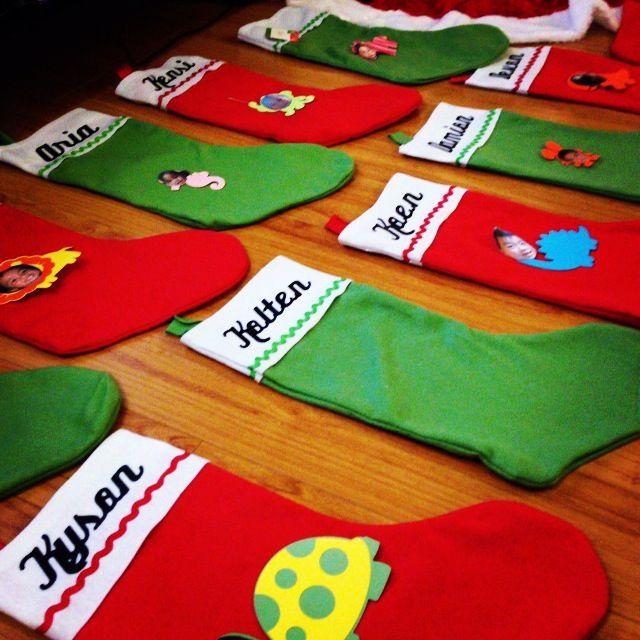 custom christmas stockings cricut iron on vinyl - Custom Christmas Stockings