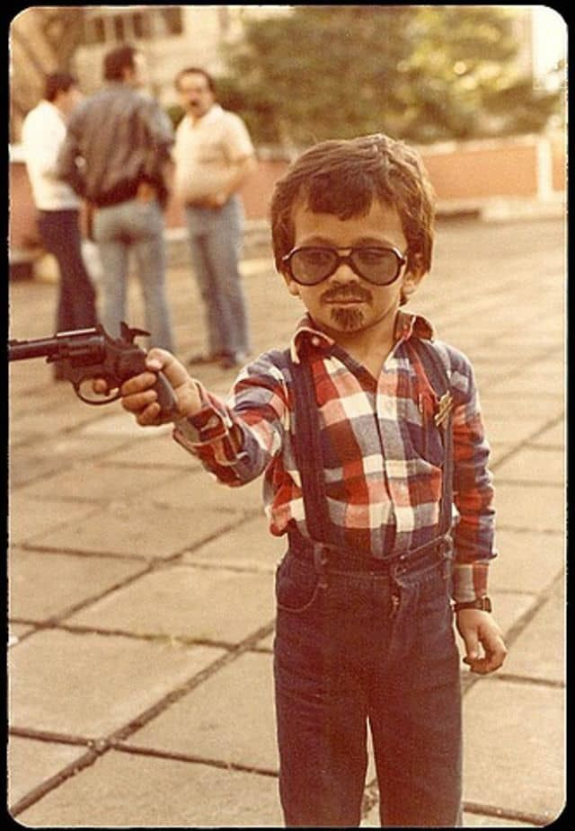 vintage everyday: 26 Vintage Snapshots of Children Posing with Their Guns