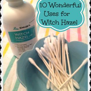 10 wonderful uses for witch hazel