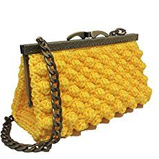 Italian Craft Handmade Amazonit Handmade τσάντες Crochet