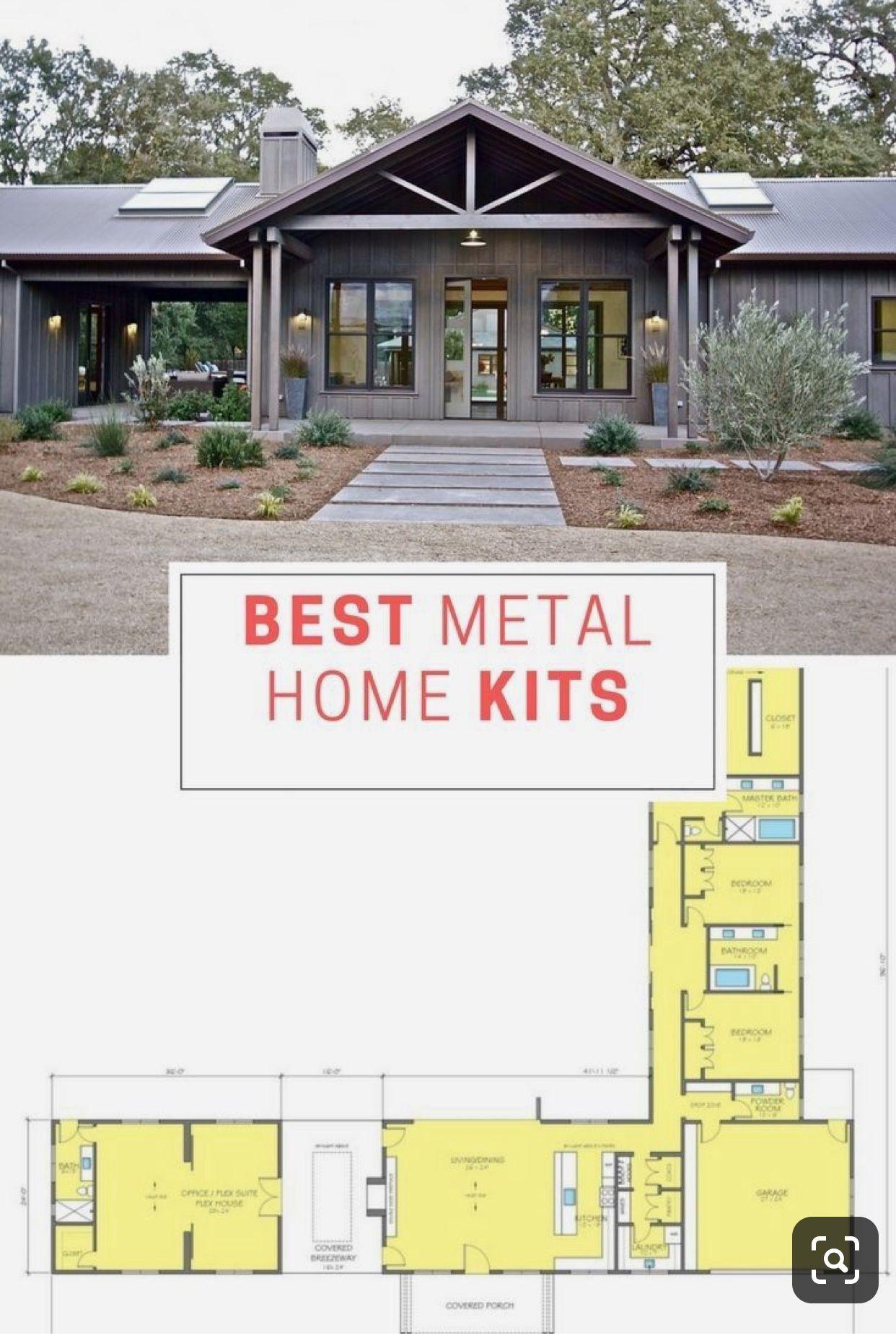 Curb Appeal Steel Building Homes Metal Building Home Kits Metal Building Homes