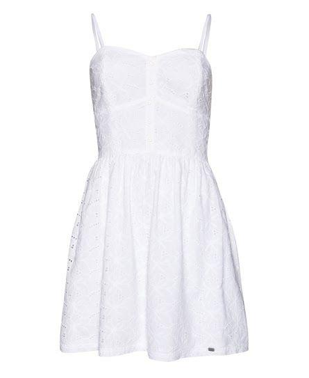 84c66581 Superdry 50's Boardwalk Dress White | Moda in 2019 | Superdry ...