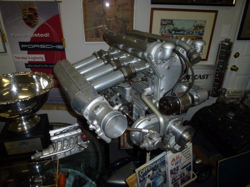 For Sale - The Most Stately Offenhauser Engine - The George Tilp ...