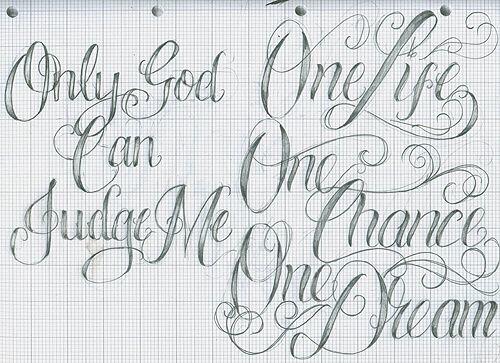 Free Online Font Generator Tattoos: Tattoo Fonts Cursive, Tattoo