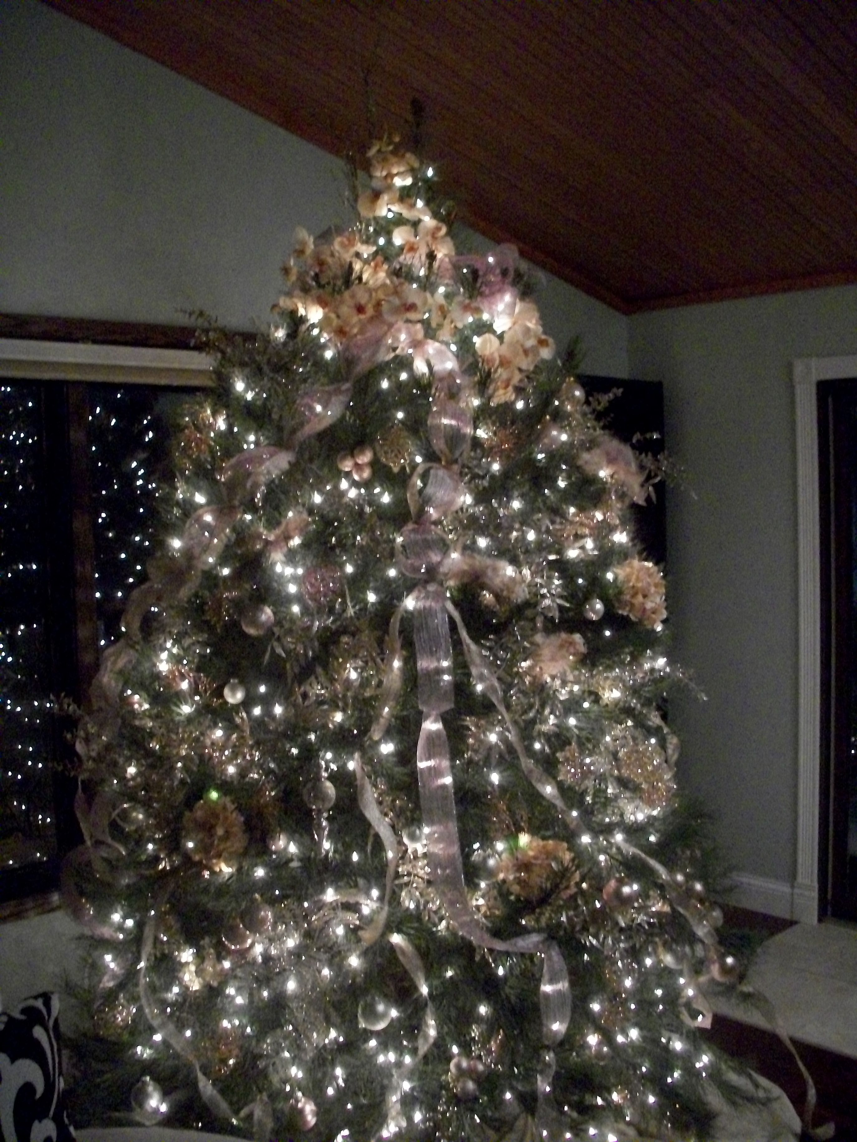 When the weather gets cold...warm the house with the tree.  Looking forward to tree decorating.