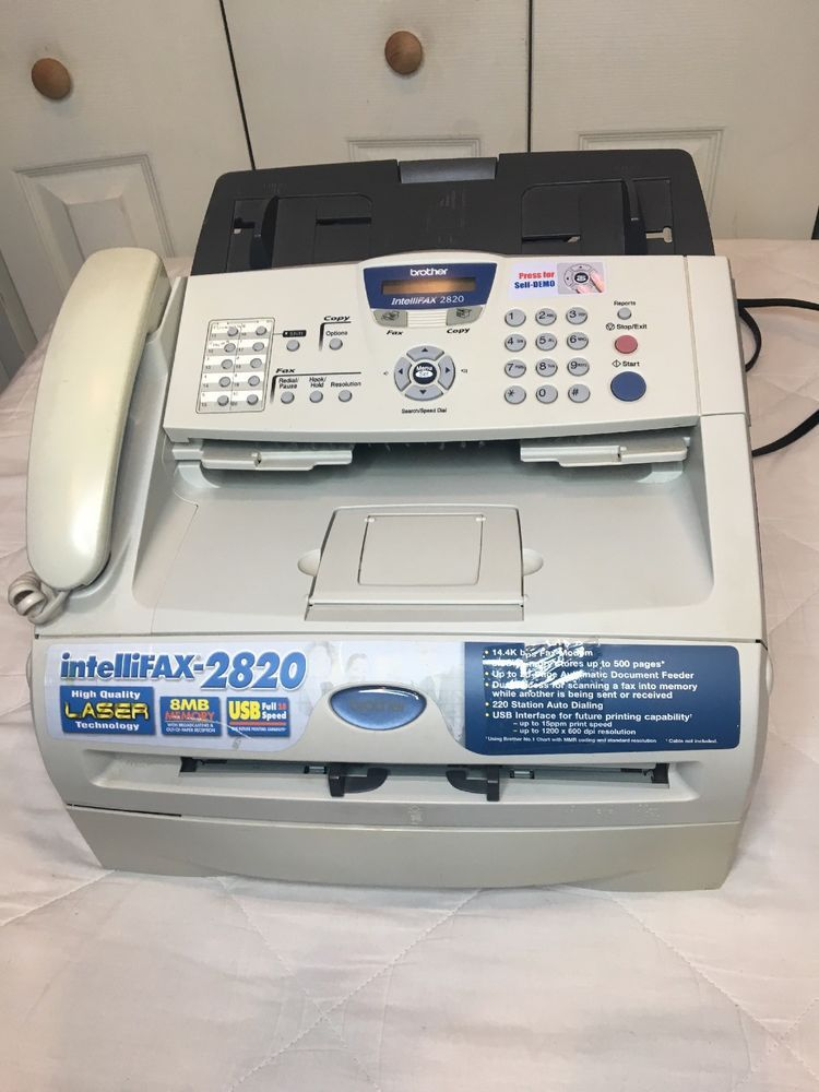 BROTHER FAX 2820 USB PRINTER DRIVER UPDATE
