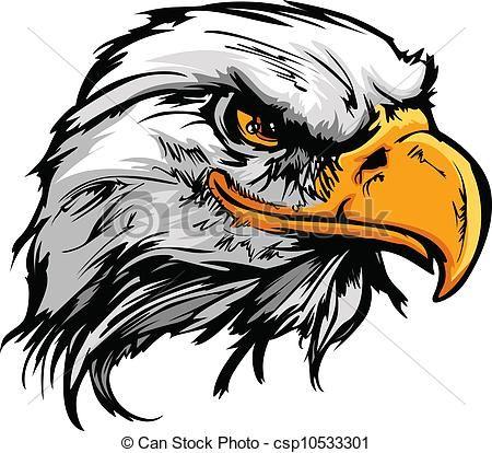 49+ Bald eagle head clipart information