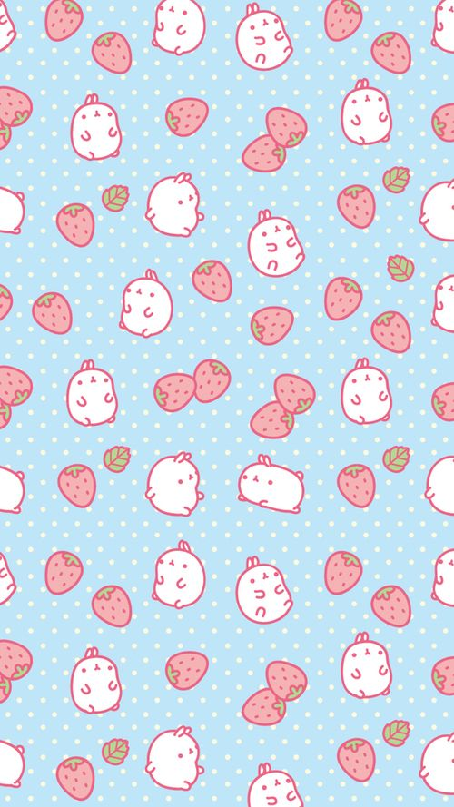 Most popular tags for this image include cute strawberry for Popular wallpaper patterns