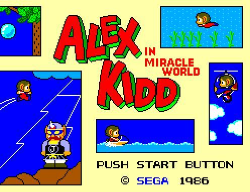 Alex the Kid in Miracle World