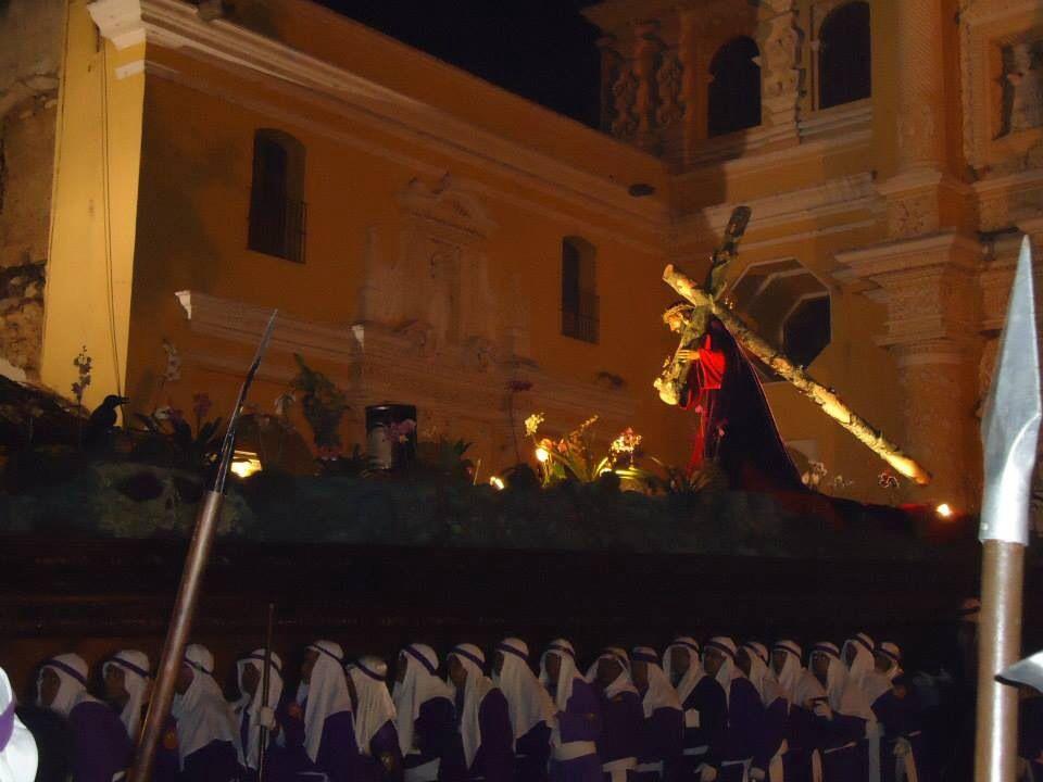 Procesión Templo La Merced,   Antigua Guatemala