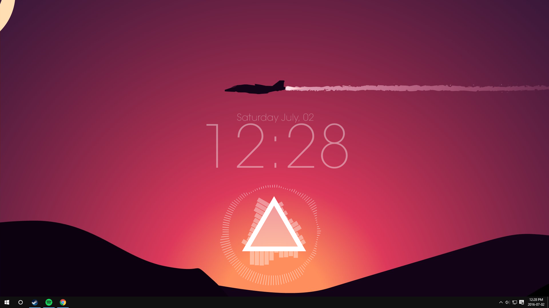 Live Rainmeter What You Guys Think Hd Wallpaper From