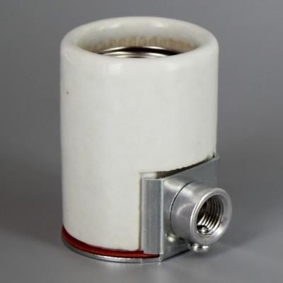 Lamp Parts Lighting Parts Chandelier Parts Leviton E 26 Porcelain Keyless Socket With 1 8ips Side Outlet Bushing So10091 Lamp Socket Lamp Parts Leviton