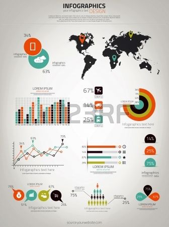 Infographics set world map and information graphics vector infographics set world map and information graphics vector infographics vector graphicdesign design 123rf gumiabroncs Gallery