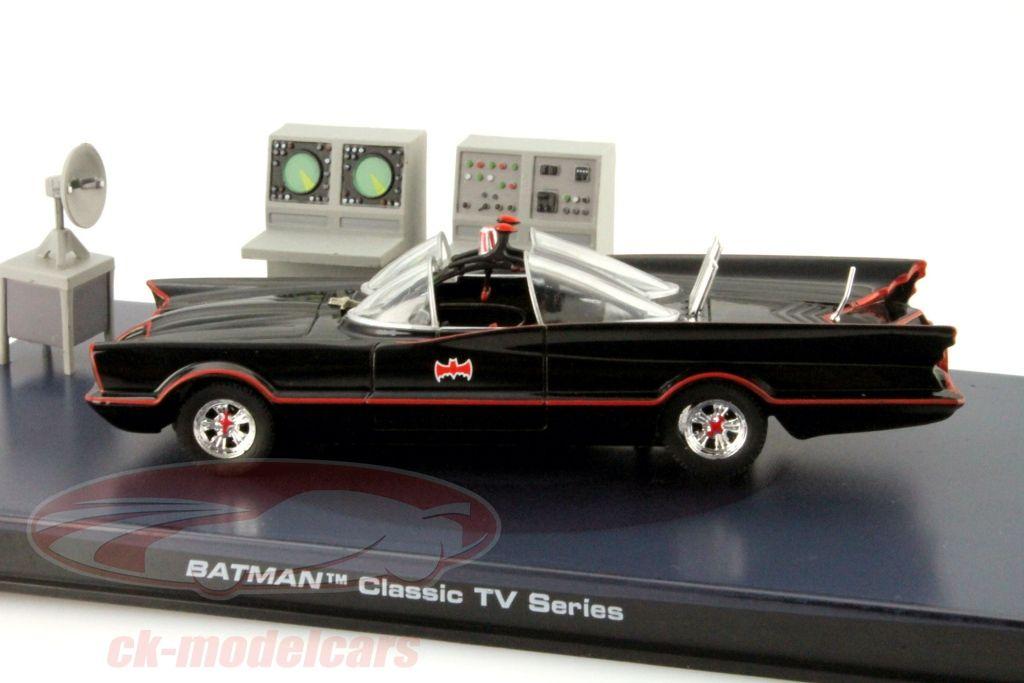 Batmobile Batman TV Series 1966 schwarz 1:43 Ixo Altaya