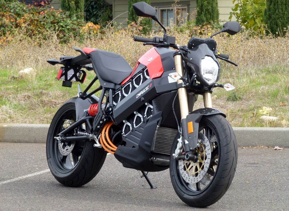 Taking A Whir On Brammo S Empulse R Electric Motorcycle