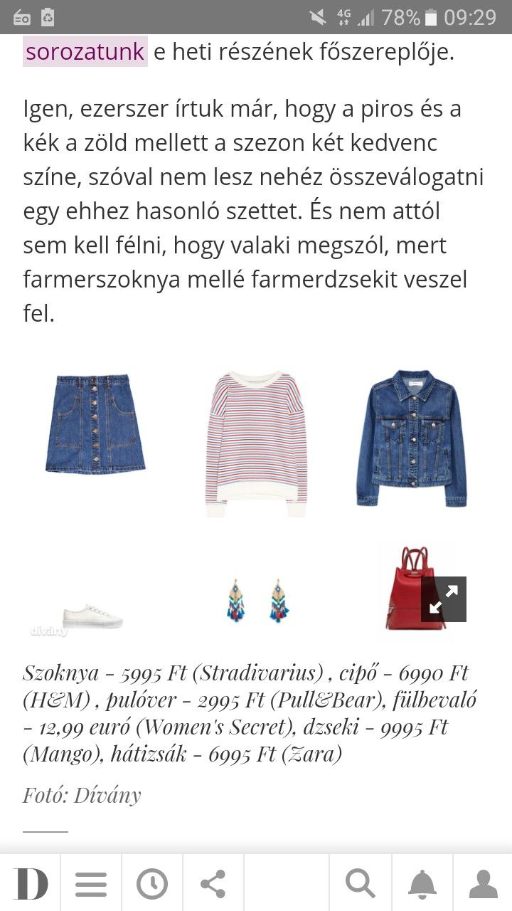 3845301a55 Pin by Dia Fáczán on Outfit | Denim skirt, Denim, Outfits