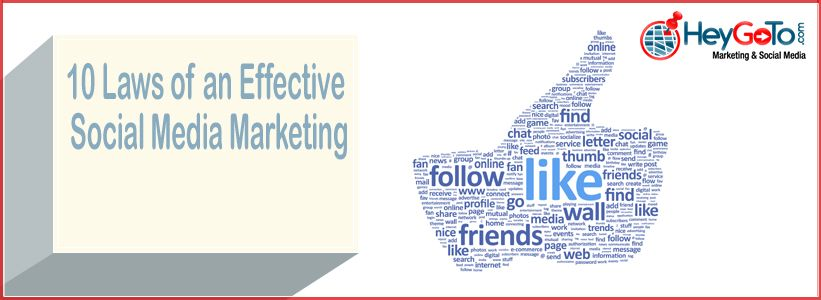 10 Laws of Effective Social Media Marketing