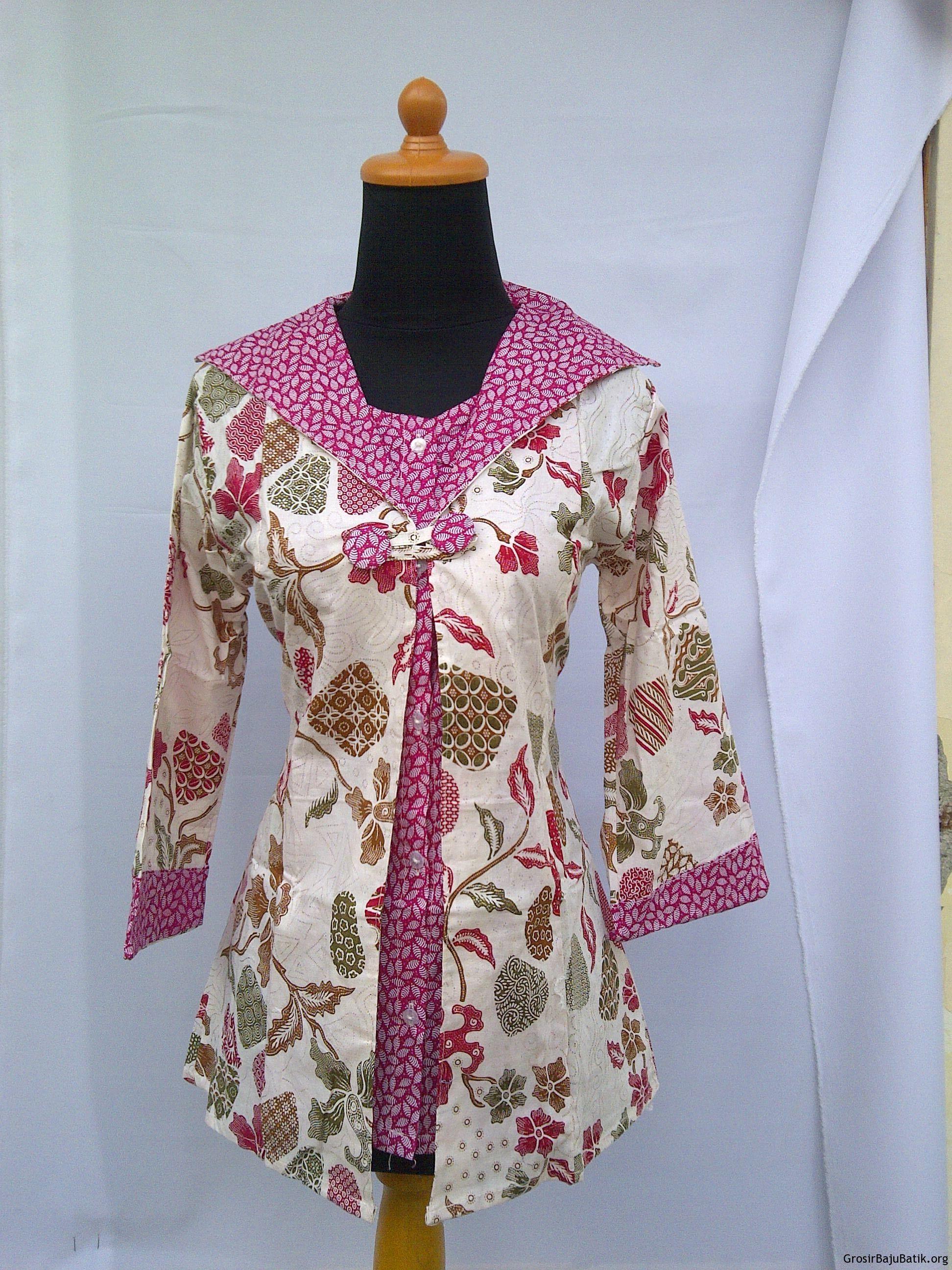 Modelbaju24 Model Baju Batik Modern Model Baju Gamis