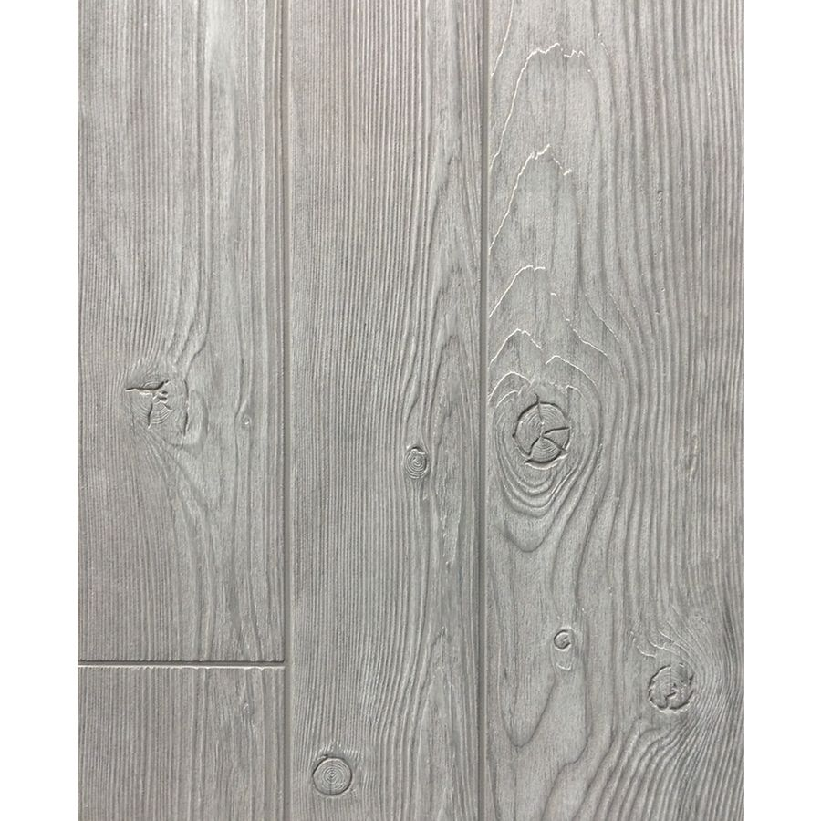 Lowes Bathroom Paneling: FashionWall 47.75-in X 7.98-ft Embossed Weathered Gray