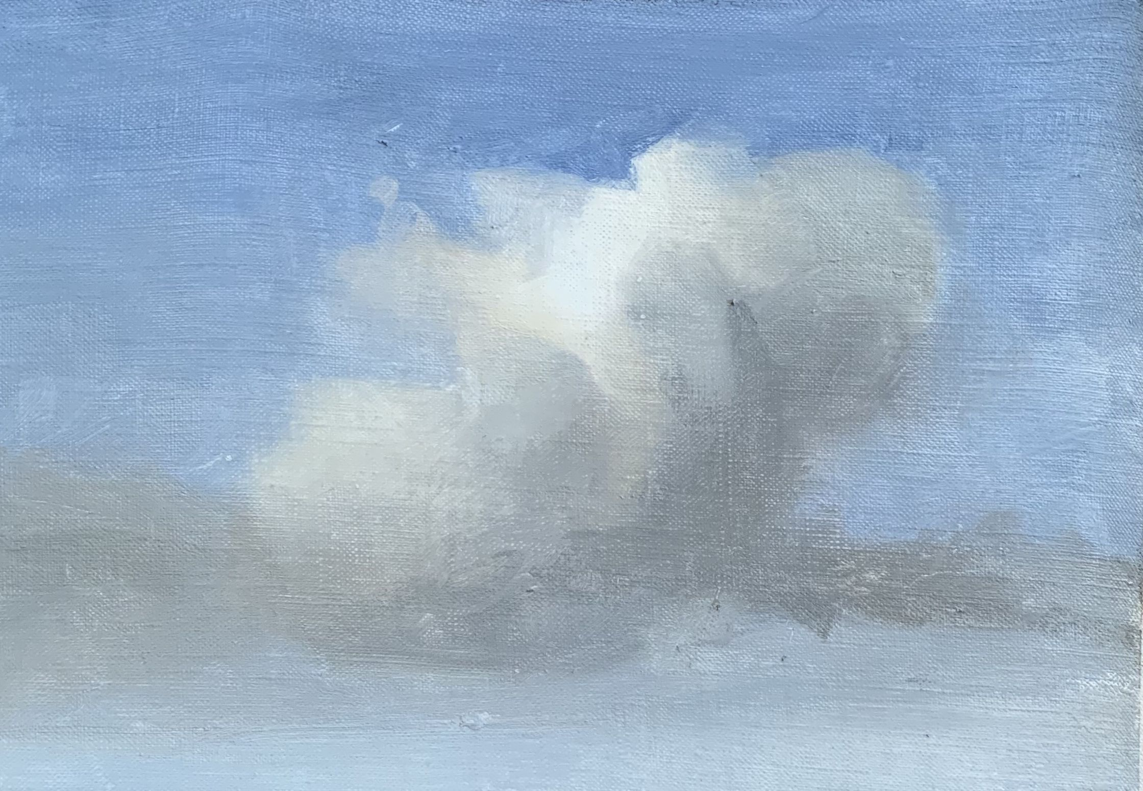 How to paint clouds art studio life cloud painting