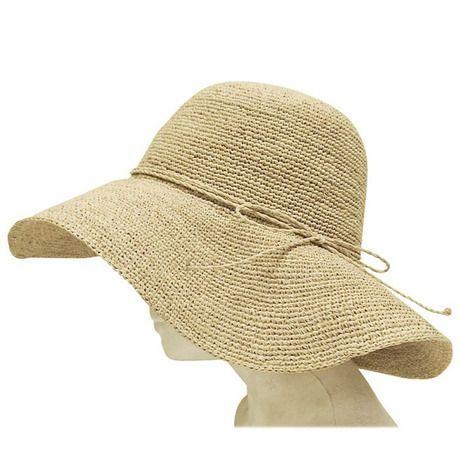 bd93c30b Boardwalk Style - Fine Crochet Raffia Floppy Hat | Products | Hats ...