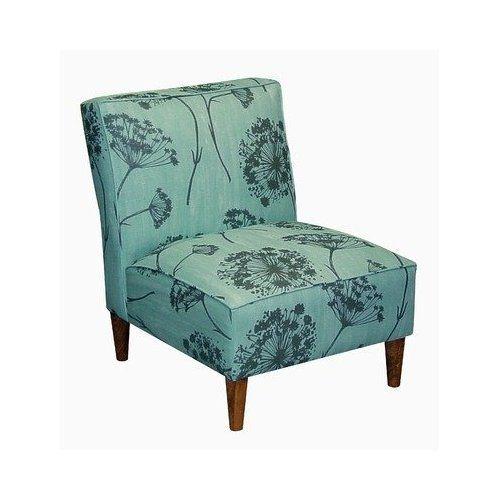 Amazon Com Skyline Furniture 5905qalaqua Armless Chair