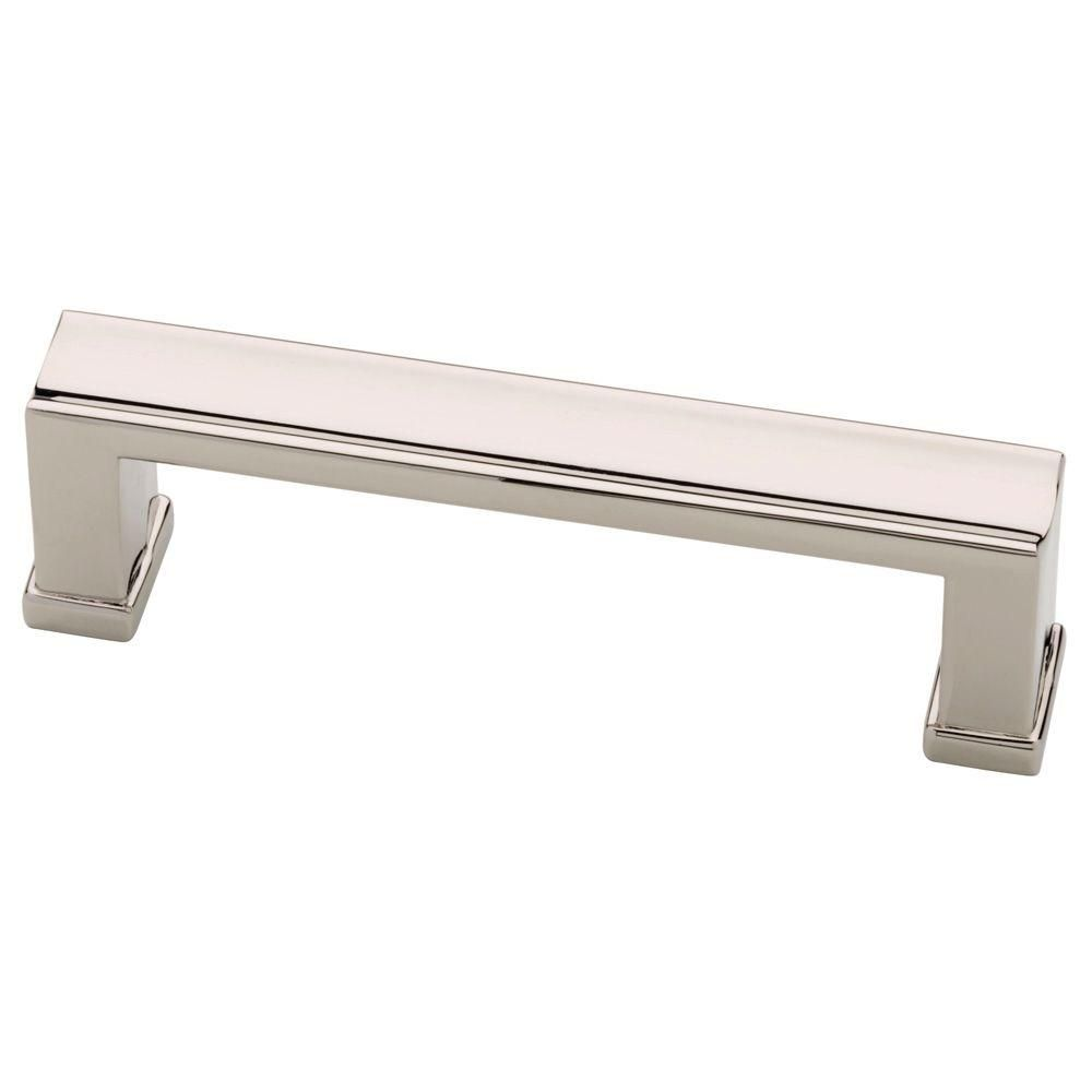 Martha Stewart Living Channel 3 in. (76mm) Polished Nickel Drawer ...