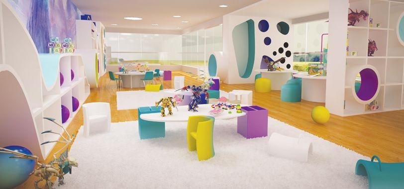 Sala de juego para ni os sala de juegos pinterest for Diseno curricular jardin maternal