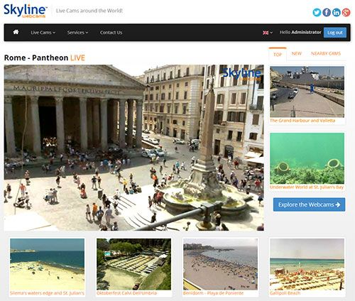 SkylineWebcams   Live Cams HD from the World!