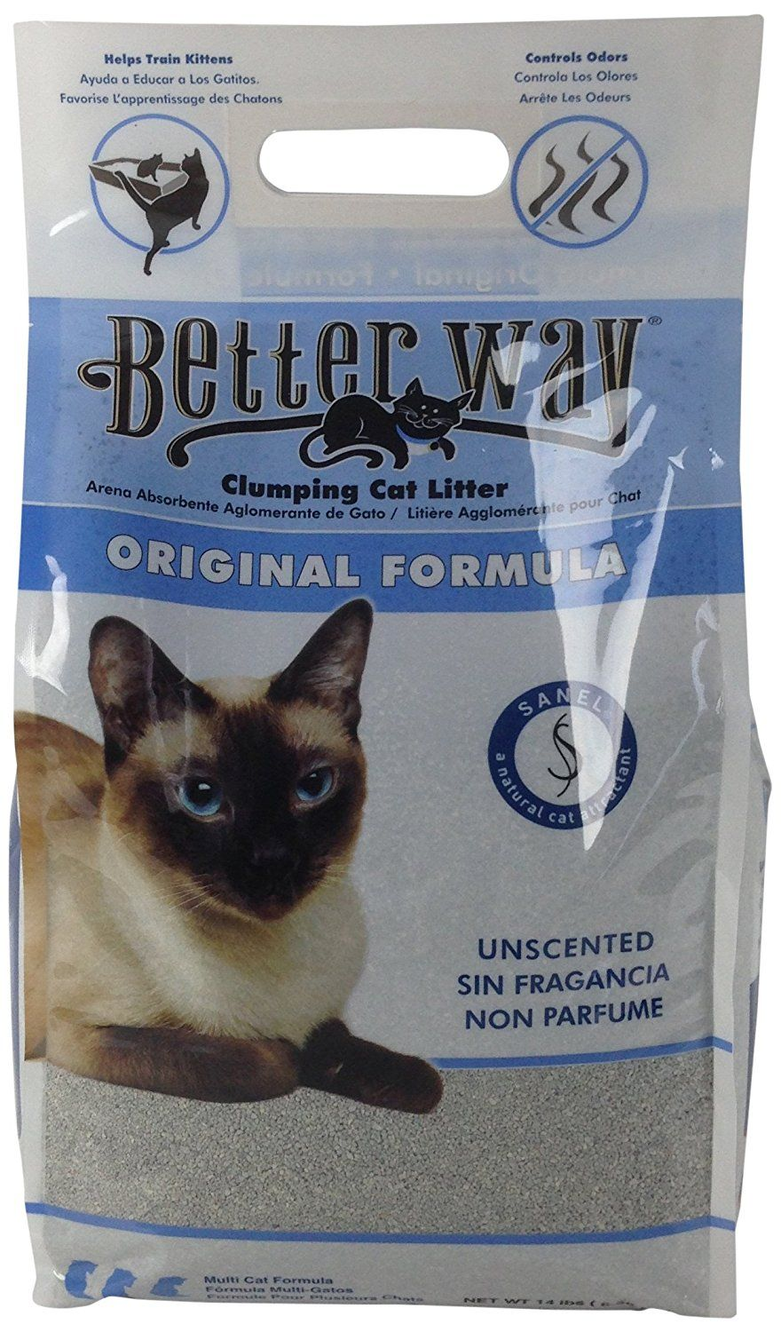 Ultra Pet Better Way Clumping Cat Litter With Bentonite Clay And Sanel Cat Attractant 14 Pound Bag More Info Could B Clumping Cat Litter Cat Litter Litter