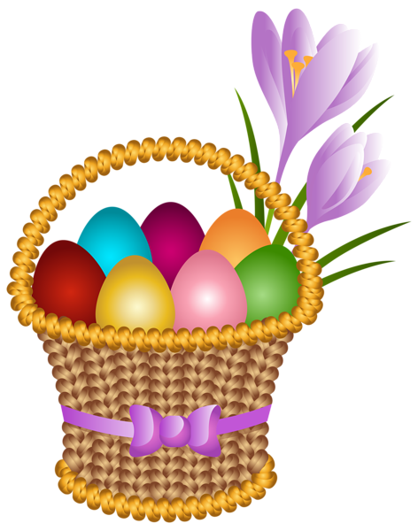 Easter Egg Basket Transparent Png Clip Art Image Easter Egg Basket Happy Easter Wishes Easter Wishes