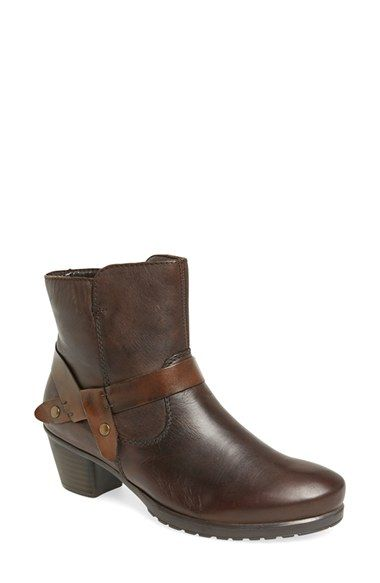 0b8e9696b00 Free shipping and returns on Rieker Antistress Rieker Antistress  Shelby  53  Bootie (Women) at Nordstrom.com. Chic straps with goldtone hardware  enhance a ...