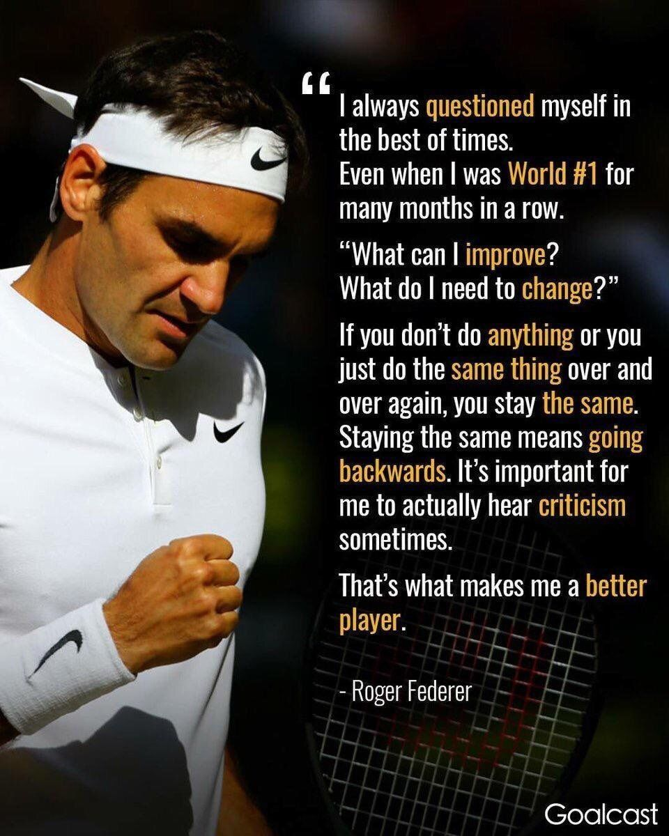 My Inspiration Tennis Quotes Tennis Player Quote Roger Federer Quotes