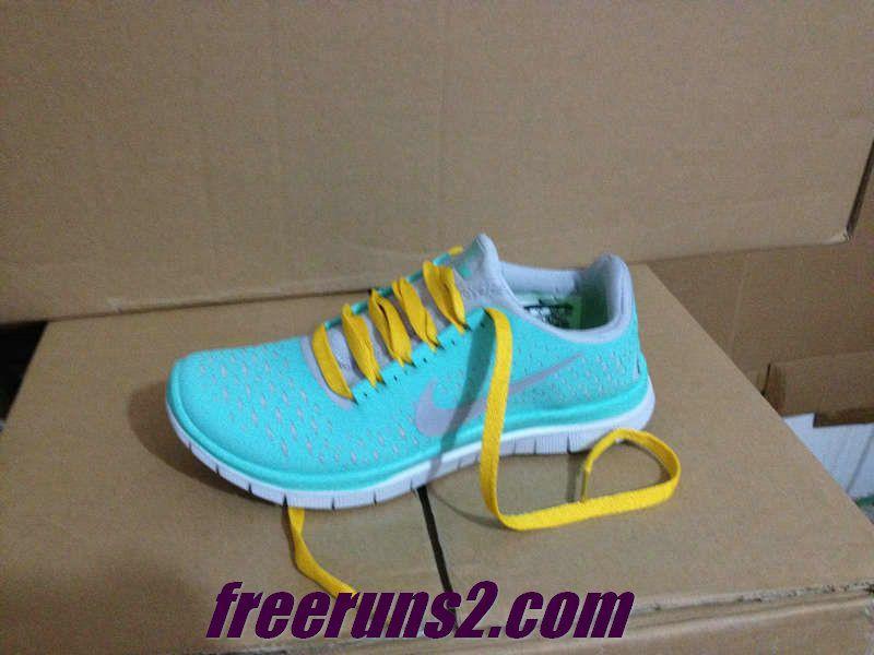 1cbfd4eb7dab Nike Free 3.0 V4 Mens Tropical Twist Reflective Silver Pro Platinum Yellow  Shoes