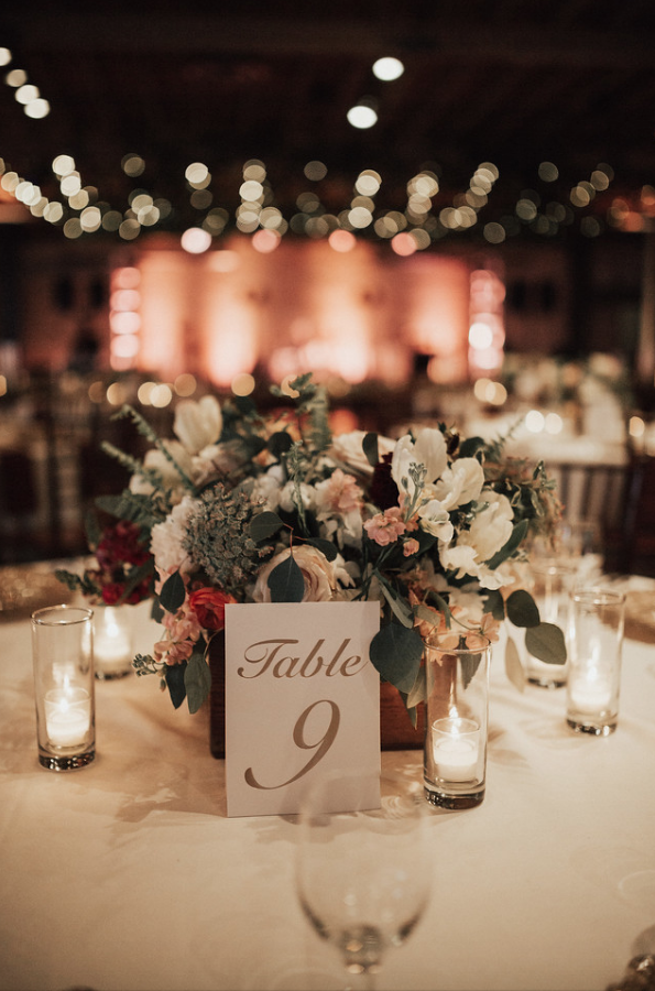 Katelyn Kevin Flower Arrangements Wedding Decorations Wedding