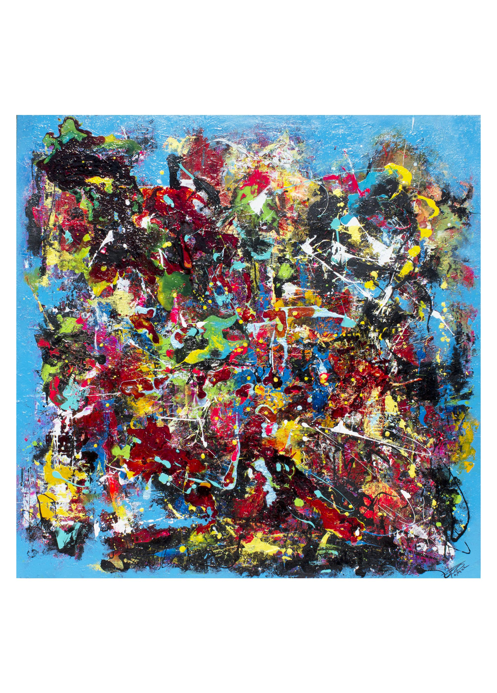 Peinture Art Abstrait Technique Acrylique Glycero Encres Art Abstrait Abstrait Peinture