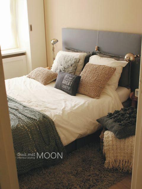 thuis met Moon: Stoere slaapkamer | Pillow talk | Pinterest | Pillow ...