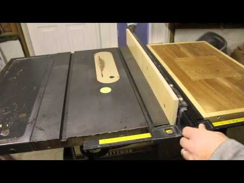 Improve Your Contractor Table Saw Fence Youtube Table Saw