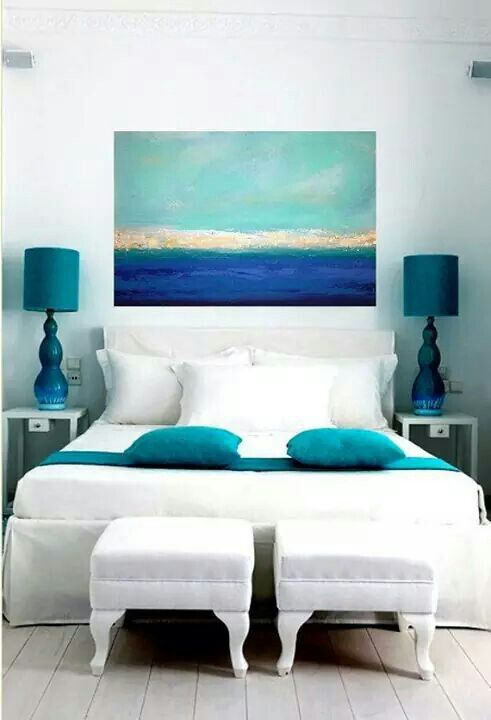 Im loving all of the whites and blues... | things | Pinterest ...