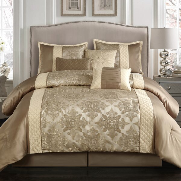 You Ll Love The Montage 7 Piece Comforter Set At Wayfair Great Deals On All Bed Bath Products Comforter Sets Queen Size Comforter Sets Queen Comforter Sets