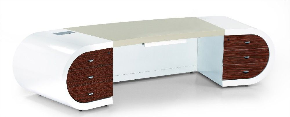 أبيض لامع 2015 منزل فخم الجدول المكتبية الحديثة صورة طاولات الخشب معرف المنتج 60110514334 Arabic Alibaba Com Desk Office Desk Corner Desk