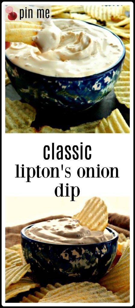 Classic Lipton's Onion Soup Dip - Frugal Hausfrau