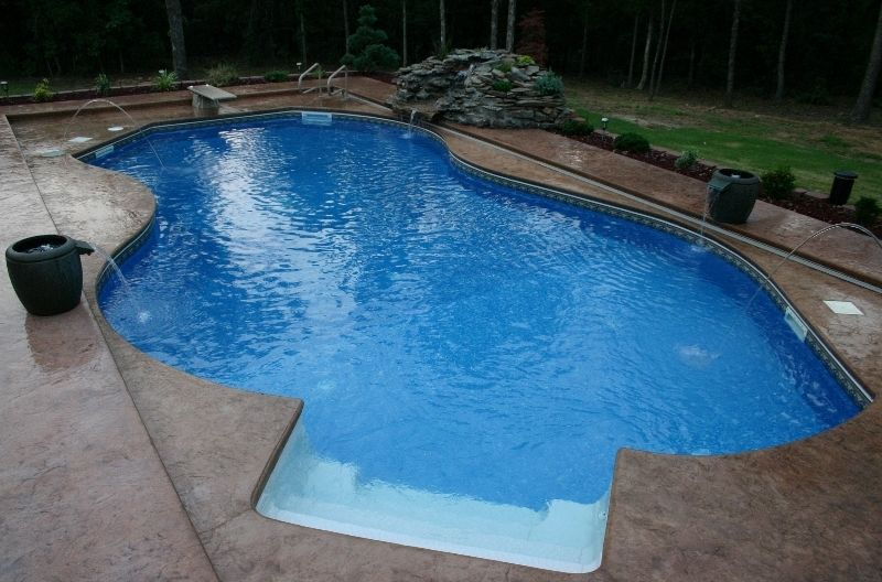 Water Feature Photos Fort Smith Springdale Nw Arkansas Mountaing Lake Rock Waterfall Water Features Custom Pools Pool